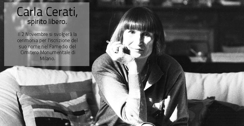 Carla Cerati, Lo spirito libero di Milano