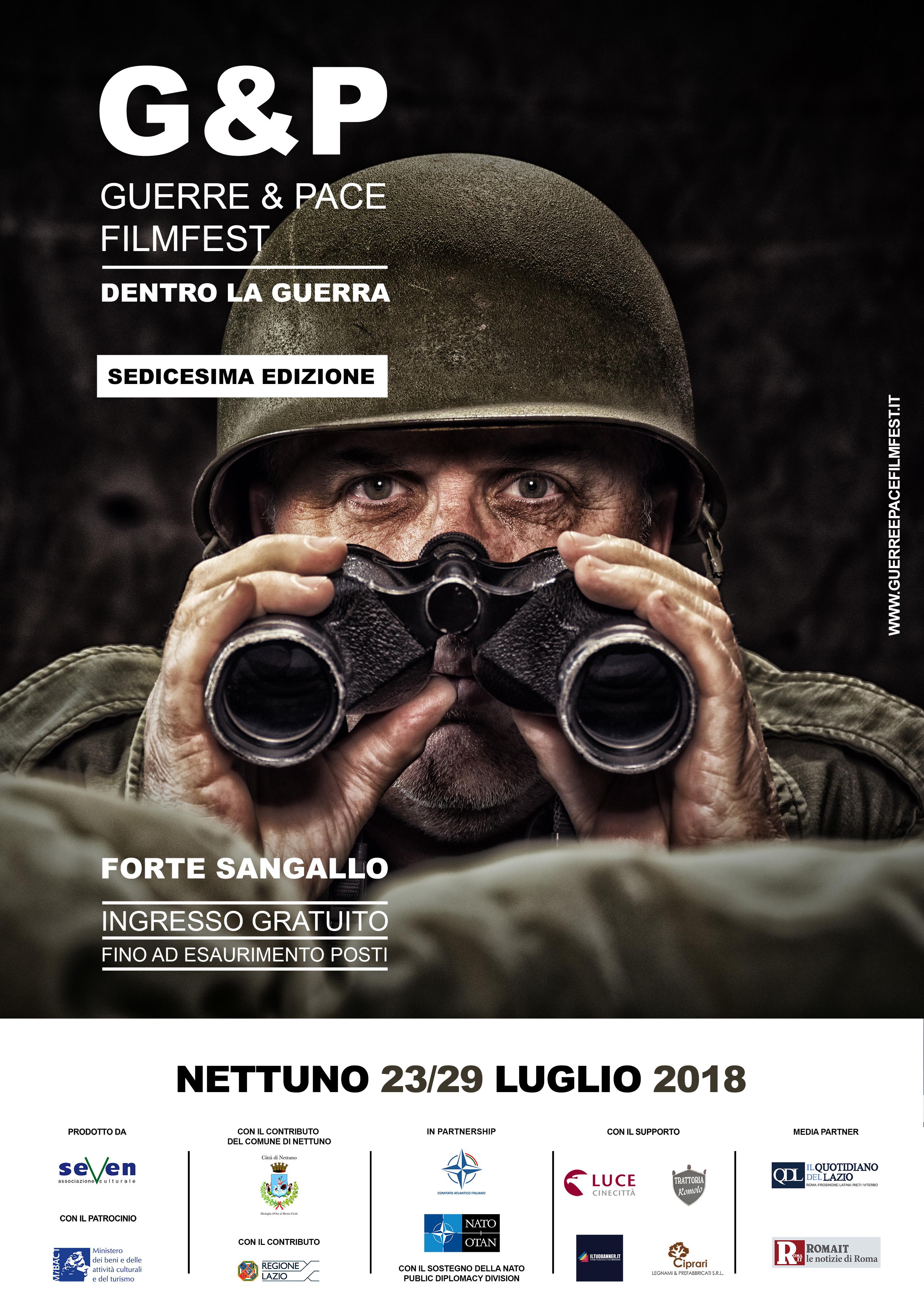 A Nettuno (RM) la 16° Edizione del Guerre&Pace FilmFest