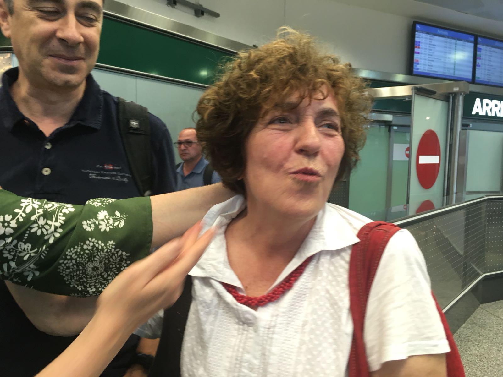 Cristina Cattafesta è libera ed è tornata. Per tutti noi