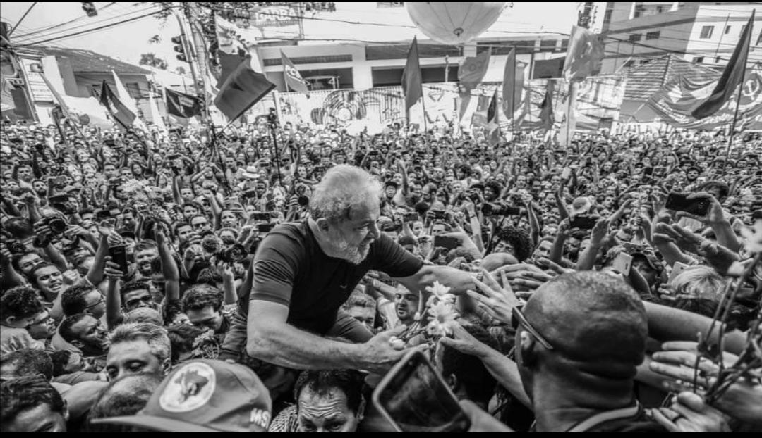7 aprile 2018 – 8 novembre 2019, Bon dia, Lula Livre!
